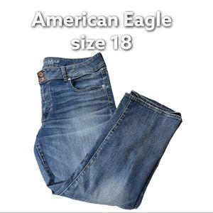 American Eagle   Super Stretch Artist Crop Jeans